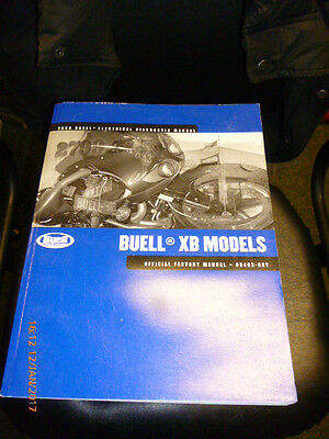Buell XB Models 2009 Electrical Diagnostic Manual - 99493-09Y