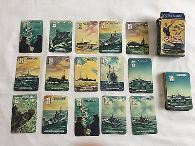old pack of England Expects playing cards