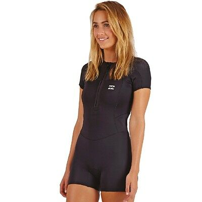 Billabong 1mm Womens Synergy Shorty Wetsuit 2017 NEW surf open water swimming