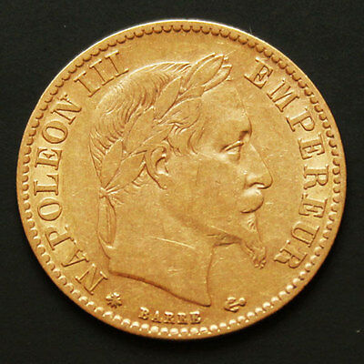 10 francs or Napoleon III 1862 A Gold coin France