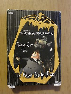 The Nightmare Before Christmas Trading Card game - Mayor Starter Deck