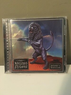 Mick Jagger Signed Bridges To Babylon CD The Rolling Stones