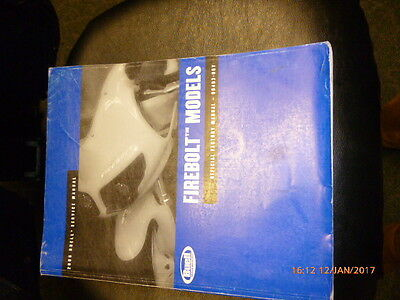 Buell Firebolt Models 2006 Service Manual - 99493-06Y