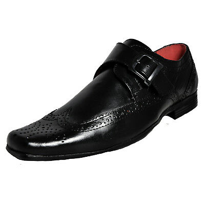 Red Tape Hammond Mens Smart Leather Dress Shoes Black