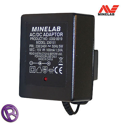 Minelab Mains charger for NiMh Battery Pack