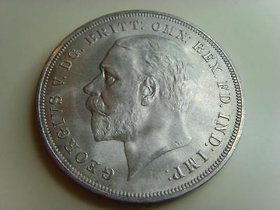 1935 .500 Silver Rocking Horse Crown King George V British Coin Great Britain