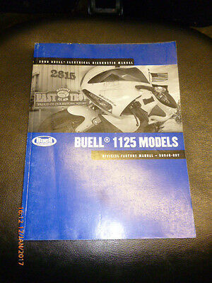 Buell 1125 Electrical Diagnostic Manual - 2009 - 99949-09Y