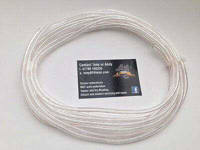 CLEAR PETROL OIL FUEL PIPE HOSE LINE for 3MM - 4MM FITTINGS 1.0M LENGTH Yamaha