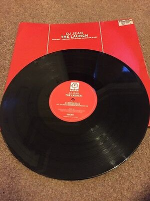 12 inch Vinyl Dj Jean The Launch  Hard house  hard Dance