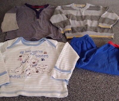 Boys Jumpers / Long Sleeve Tshirts Age 12-18 Months Next George