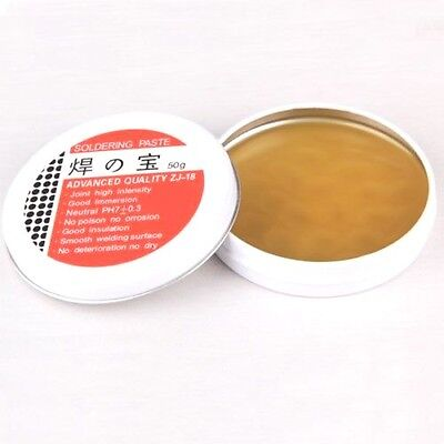 50g Rosin Soldering Flux Paste Solder High Intensity Welding Grease Hot UR