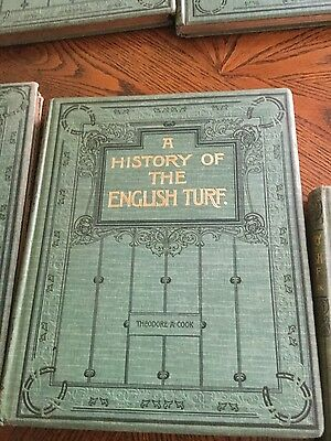 a history of the english turf volumes 1-2-3 div. 1&2 by Theodore A Cook