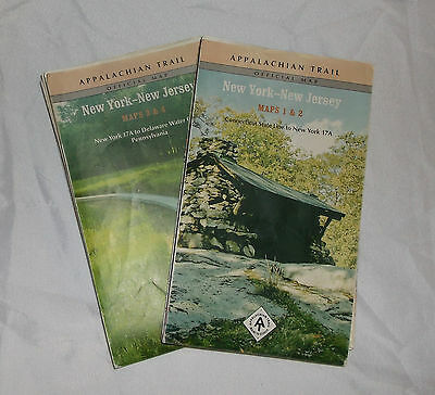Appalachian Trail maps for New York and New Jersey 2011 ATC                    J