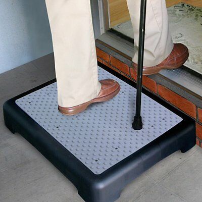 Outdoor Half Step Rubber Mat Indoor Non Slip Mobility Disability
