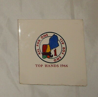 Region 1 1966 Top Hands Conference tile Professional Staff One                 I