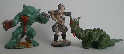 Citadel Pre-Slotta 3 Metal Fiend Factory - The Fiend, Hill Giant, Young Dragon
