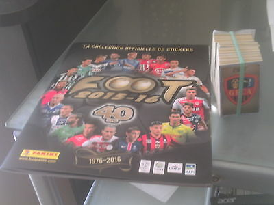 panini foot 2016 set complet