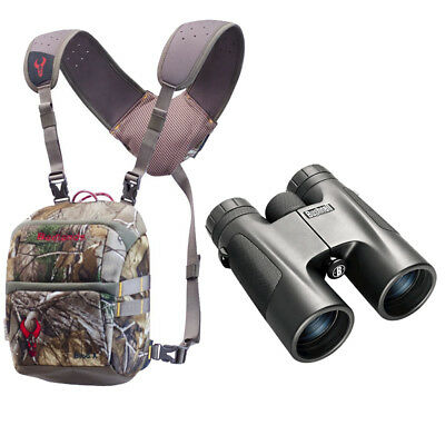 Badlands Bino X Case (Realtree) and Bushnell Powerview 10x50 Hunting Binoculars