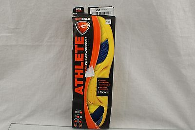 SofSole Athlete Performance Insole Comfort Cushioning Cushion Arch Support 9-10.