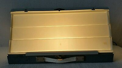 Vintage Smith-Victor Lighted Slide Sorter Viewing Tray Model SS1  -   Works