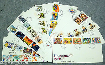 GB Stamps Collection of First Day Covers x10 - still collectable?