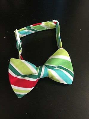 Trendy Ties Merry Stripe Bow Tie for Boys age 0- 6 months