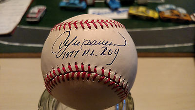 Montreal Expos ROY Andre Dawson signed auto ONL baseball Hall Of Fame HOF MVP