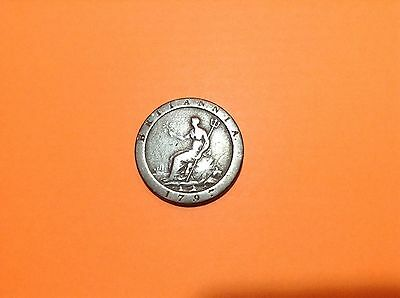 George Iii 1797 Cartwheel Penny Excellant Copper Coin.