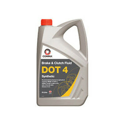 Comma BF45L DOT 4 Synthetic Brake Fluid 5 Litres