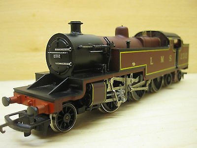 OO gauge locomotive 264 Fowler LMS 2312 by Hornby.For restoration.Runs.