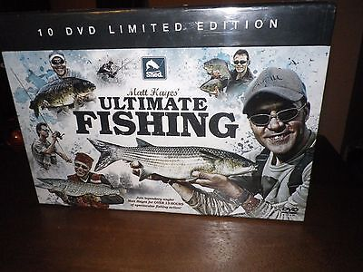 matt hayes ultimate fishing 10 dvd s