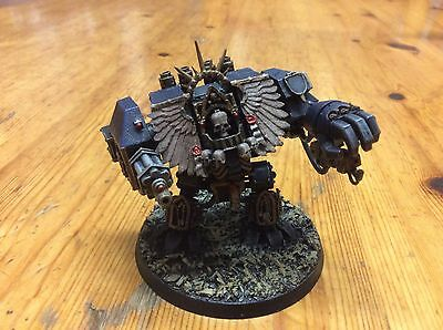 Forgeworld Chaplain Dreadnought airbrushed and build very good