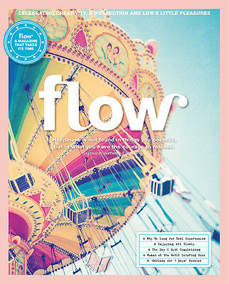 Flow Magazine Issue 16 - A magazine for paper lovers