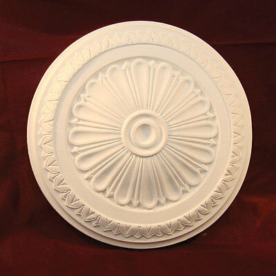 Plaster Ceiling Rose Traditional Victorian 335mm Handmade