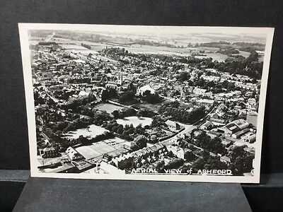 Kent  Aerial View Of Ashford Real Photo Old Postcard. Ref 17/3256