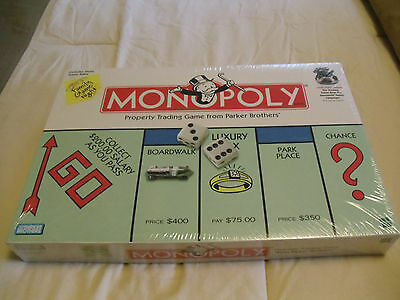 Monopoly Board Game (Parker Brothers 1999) [TOKEN CAMPAIGN PIECE] NEW! SEALED!