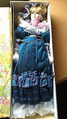 22'' Porcelain Doll Knightsbridge Collection