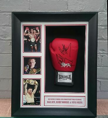 Signed Boxing Glove By 3 World Champions
