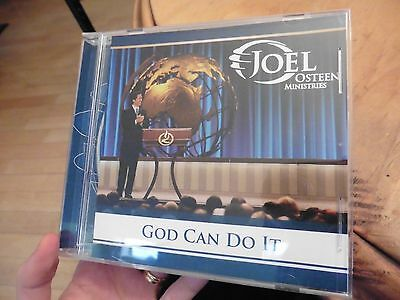 Joel Osteen Ministries God Can Do it CD # D003 Sermon Series
