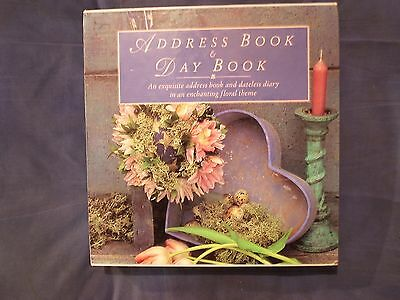 Address Book and Day Book with case, Books include craft & flower arranging tips