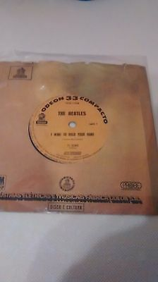"""The Beatles I Want To Hold Your Hand 7"""" Single V/g"""
