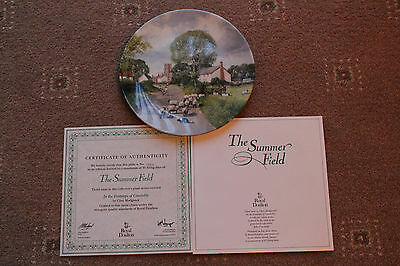 Royal Doulton Decorative Plate The Summer Field