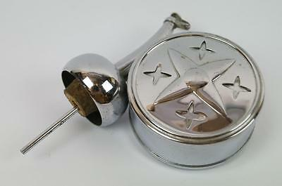 Vintage Retro 1960's Musical Pourer with Mechanical Movement in Chrome