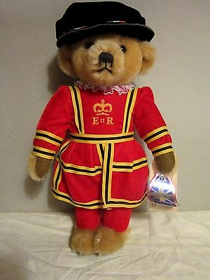 "1990 Mohair 17"" Royal Guard Beefeater Bear MerryThought Made in England"