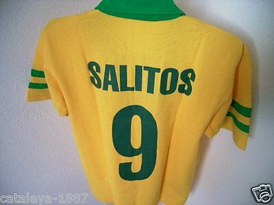 Original Salitos Trikot T Shirt Nr.9 L Bistro Bar Club Disco Brazil Brasil Wm