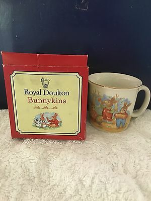 Vintage Royal Doulton Bunnykins Hug A Mug - 1994 - In Original Box