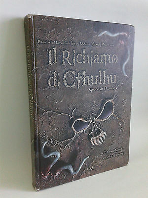Call of Cthulhu - d20 system, D&D 3.5, WotC - manuale copertina rigida, Italiano