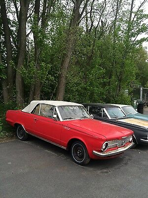 1965 Plymouth Other Valiant Signet Plymouth Valiant Signet 1965 Convertible Coupe Automatic project classic car