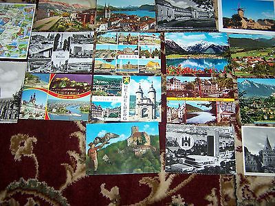 17 Postcards Berlin Switzerland Austria  and other countries