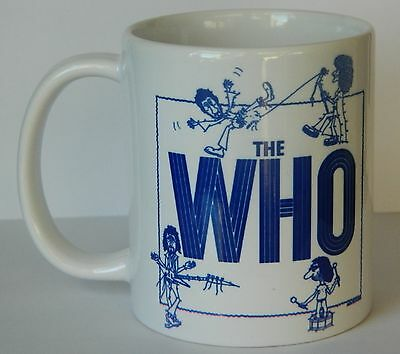 THE WHO - WHO BY NUMBERS - 11oz MUG FEATURING ORIGINAL MCA ALBUM ADVERT LAST FEW